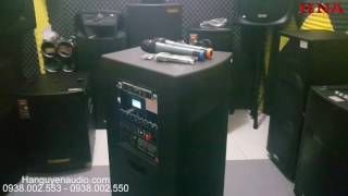 Test âm thanh loa kéo temeisheng GD 212-03 hát nhất hiện nay