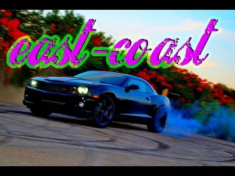 Crazy 2010 Camaro Donuts Burnouts and Police Chase. This Guy is Insane