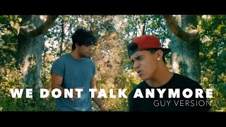 Download Lagu Charlie Puth - We Don't Talk Anymore (Tyler & Ryan Cover) Gratis STAFABAND