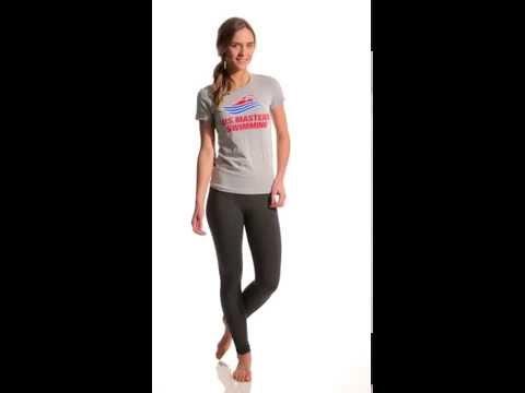 USMS Women's S/S Tee   SwimOutlet.com