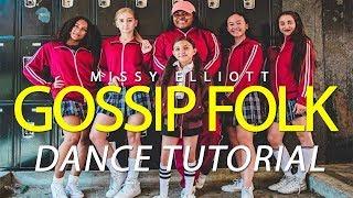 """QUINELLBASH """"Gossip Folks"""" by Missy Elliott   Choreography Dance Tutorial"""