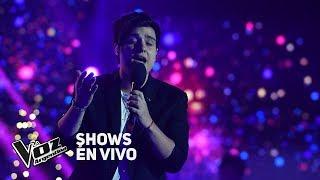 """Shows en vivo #TeamAxel: Fede Gómez canta """"Mientes tan bien"""" de Sin Bandera - La Voz Argentina 2018"""
