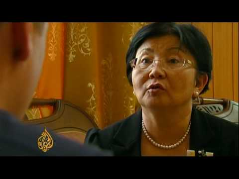 Kyrgyzstan's president speaks to Al Jazeera