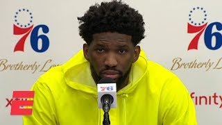 Joel Embiid after 76ers loss: Russell Westbrook is