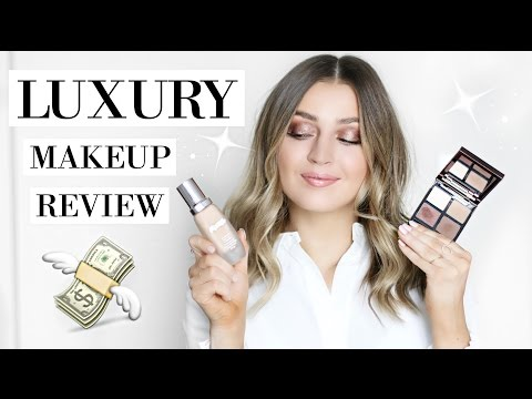 LUXURY MAKEUP HAUL & REVIEW: Worth The $$$?! Tom Ford. La Mer. Chanel. & MORE!   allanaramaa