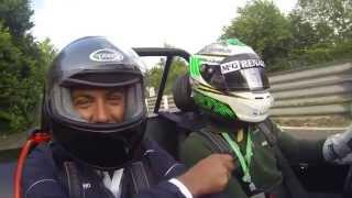 #SkySportF1HD Caterham Ride in Nordschleife - Antonio Boselli & Heikki Kovalainen