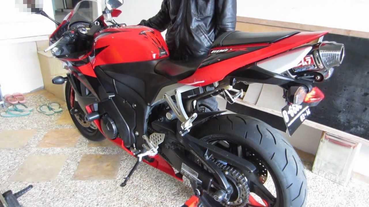 Honda Cbr 600rr Yoshimura Rs 5 Carbon Exhaust Sound Youtube