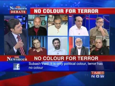 The Newshour Debate: No Colour For Terror (Part 1)