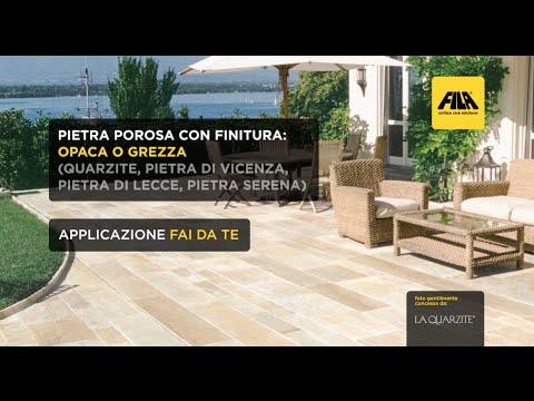 Come pulire e proteggere un pavimento esterno in pietra | Quarzite