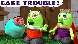 Funny Funlings Cake Trouble Food Pranks - A fun story for kids