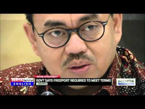 Freeport: Govt Says It Will Address Mining Giant's Concerns