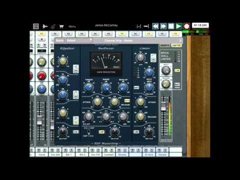 AURIA: 48-Track Recording System for iPad
