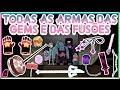 Steven Universo - TODAS AS ARMAS DAS GEMS E DAS FUSÕES (ATUALIZADO)