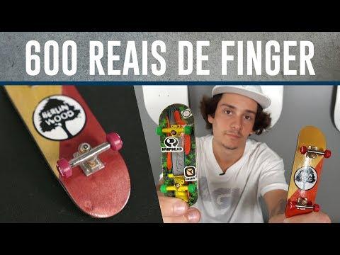 SKATE DE DEDO DE R$30 X FINGERBOARD DE R$ 600