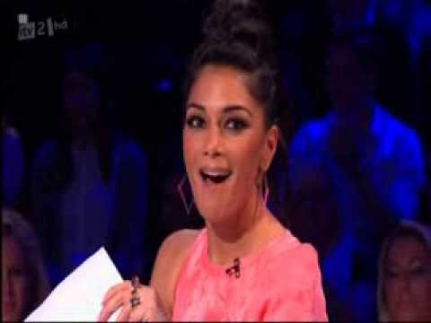 James Arthur ft. Nicole Scherzinger - Vaginas and Big Hairy Balls (Xtra Factor)