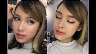 [ QUACH ANH ] Pink Doll Makeup Look