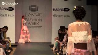 SAJ/ Sounia Gohil | Jabong Stage | Lakmé Fashion Week Summer/Resort 2014
