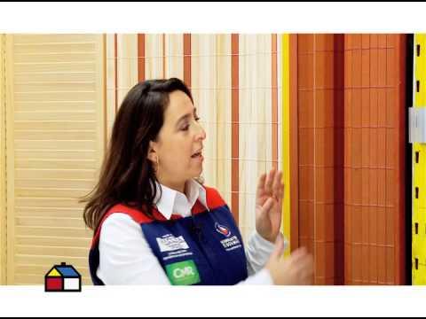 Para que sirven las cortinas de madera youtube - Cortinas de madera ...