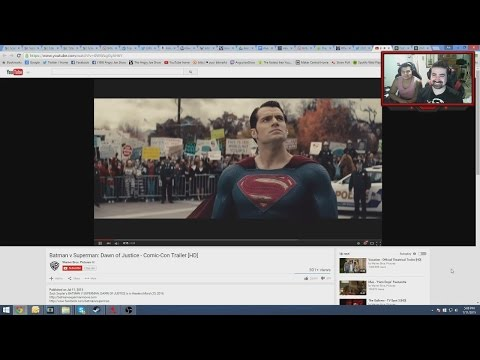 AngryJoe Batman v Superman Comic-Con Reaction & Impressions!