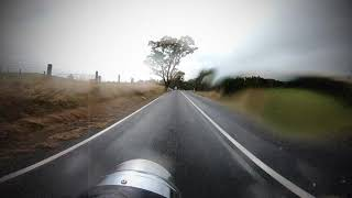 1st Royal Enfield classic 500 ride in the Rain