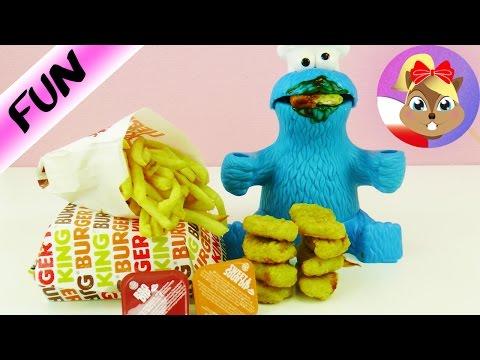King nuggets dla potwora ciasteczkowego! Burger King Food Polski Recenzja - nowe duże nuggetsy