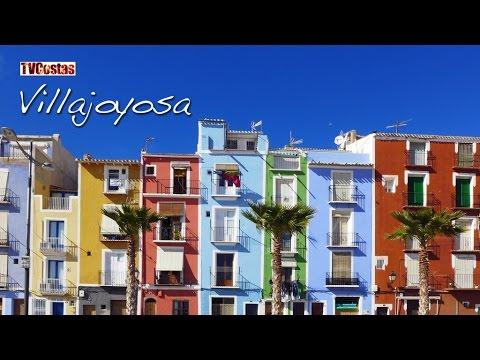 Villajoyosa (La Vila Joiosa) Costa Blanca Spain (Tour)