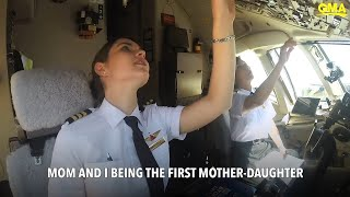 Meet First Mother & Daughters Airline Pilots at Delta: piloting is a family business