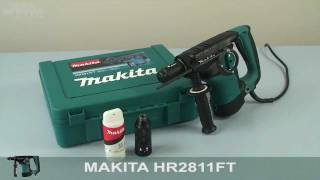 Makita HR2811FT Hammer Drill - w444w ENG