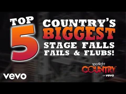 Top 5: Country's Biggest Stage Falls, Fails & Flubs (Spotlight Country)