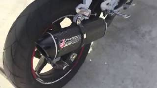 Hyosung GT 250R Two Brothers Egzos Sesi (Sound)