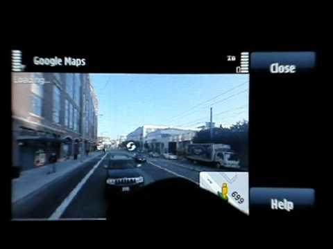 0 Google Maps on the Nokia 5800