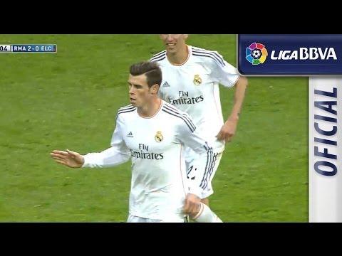 Golazo de Bale (2-0) en el Real Madrid - Elche CF