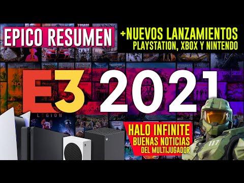 EPICO RESUMEN E3 2021 🔥 Nuevos juegos PS4, XBOX ONE, PS5, XBOX SERIES X y S, NINTENDO SWITCH 🔥 Halo