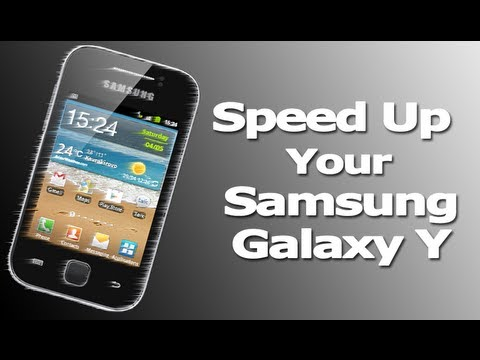 Tutorial How To Increase Internal Memory of Samsung Galaxy Y GT-S5360