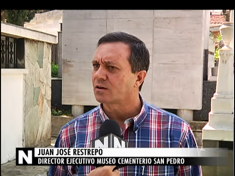 El Cementerio San Pedro tiene lápidas denominadas patrimonio cultural [Noticias] - TeleMedellin