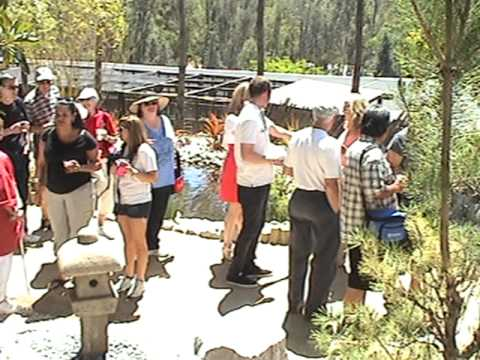 7 of 12 Bonsai Pavilion Safari Park Opening May 2011 Pt.7 Ribbon Cutting.mpg
