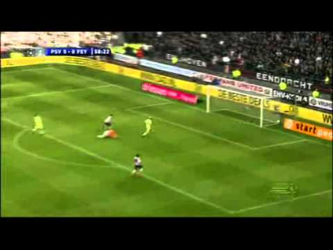 PSV-Feyenoord 10-0 - 24-10-10 Samenvatting [ALL GOALS]  Eredivisie