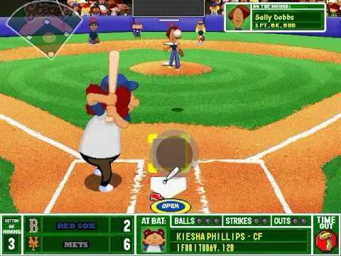 backyard baseball 2003 gameplay youtube
