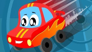 I like Speed   Little Red Car   Compilation Video For Children   Cartoon Song For Toddlers