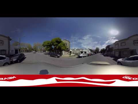 Hunting Google Street View car - 360° video experience