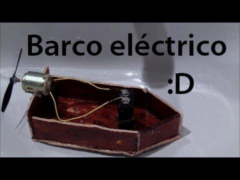 Cómo hacer un barco eléctrico sencillo
