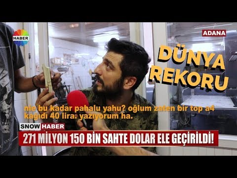 ABD'nin Aradığı Türk Yeniden Dolar Basarken Yakalandı - Röportaj Adam