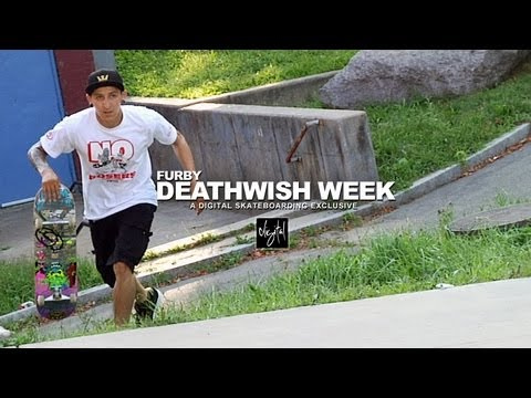 THE DEATHWISH VIDEO WEEK: FURBY DAY 3 -- DIGITAL SKATEBOARDING