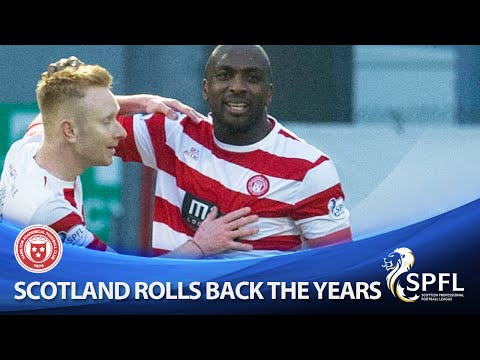 Scotland rolls back the years with great strike!