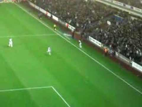 David Bentley Free Kick Vs Newcastle (Greg Taylor) Video