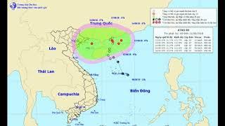 """TIN NÓNG: Áp thấp nhiệt đới bất ngờ """"bẻ lái"""", đường đi hết sức khó lường"""