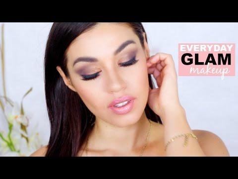 Easy Everyday Glam Makeup | Natural Makeup | Eman
