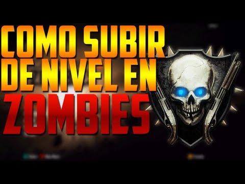 Black Ops 2: Zombies | Como subir de nivel en Zombies [Explicacion de los Emblemas]
