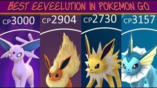 Best Eeveelutions In Pokemon Go