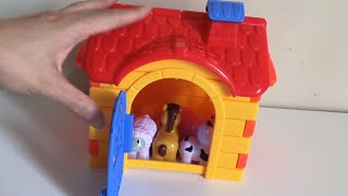 Learn Farm Animals Names For Kids   Fun Toy Animals For Kids